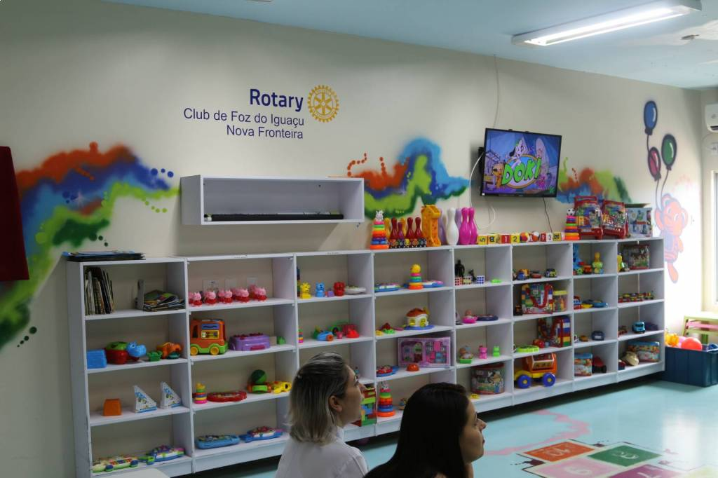 Espaço foi criado em 2016 e atende as crianças da ala pediátrica do Hospital Municipal